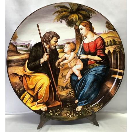 Holy Family with Palma