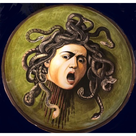 Shield with Medusa's head