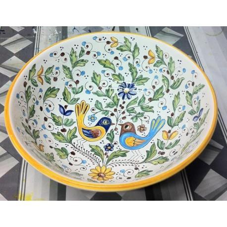 """Cuenco de cerámica """"uccellini"""" (pajaritos)"""
