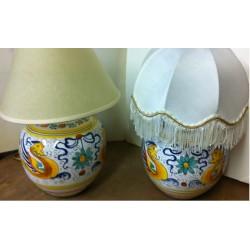 Ceramic Sisters-Lamps