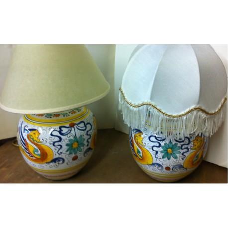Lampes-soeurs en céramique