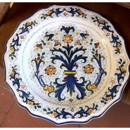 Vassoio in ceramica Deruta