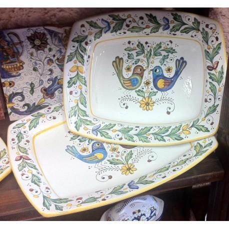 """Plats """"Birds"""" (petits oiseaux) en céramique"""