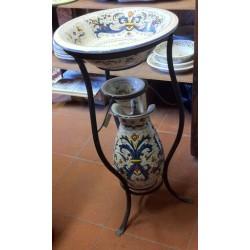 Keramik-Dienst von Bad