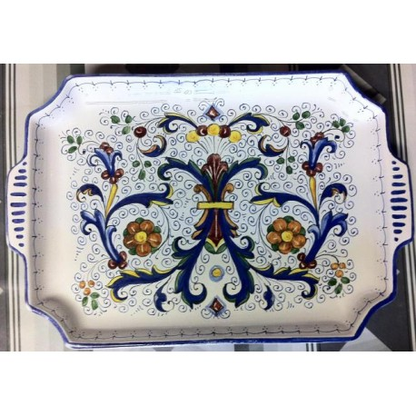 Deruta ceramic tray