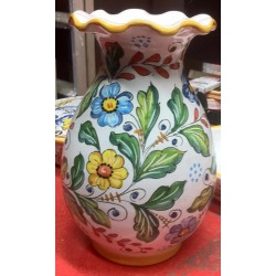 """Wildflowers"" ceramic vase"