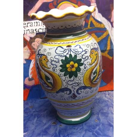 """Vase en céramique, style """"Raphael"""""""