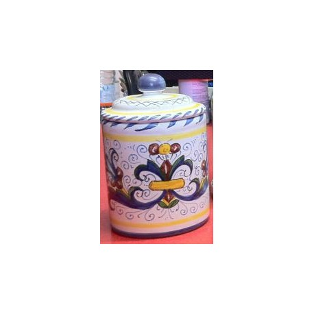 """Barattolo """"Deruta"""" in ceramica"""