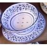 Small ceramic colander
