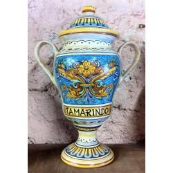 """""""Tamarindo"""" ceramic vase"""