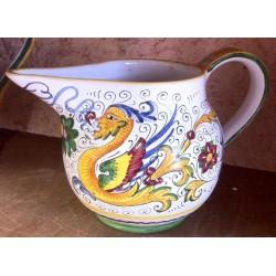 Jarra de cerámica para vino