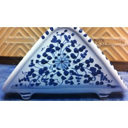 "Ceramic napkin holder, ""Arabesque"" style"