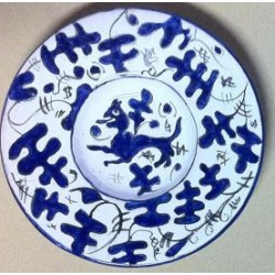"""Zaffera"" ceramic plates"