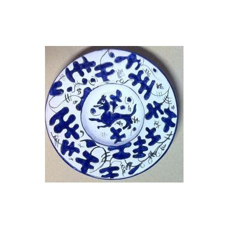 """Piatti """"Zaffera"""" in ceramica"""