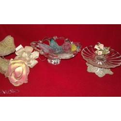Favor de ceremonia en plata y cristal de Murano