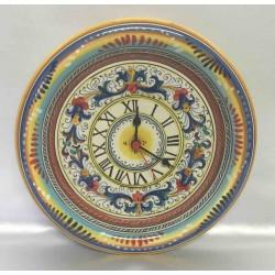 Horloge murale en céramique Deruta
