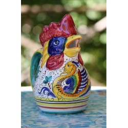 Pichet à vin en céramique Deruta, style Raphaël