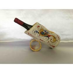 Ceramic bottle holder, Deruta Raffaello's style