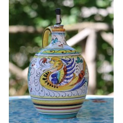 Hand-painted Deruta ceramic oil pottery