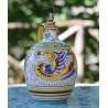 Huilier en céramique Deruta peint à la main