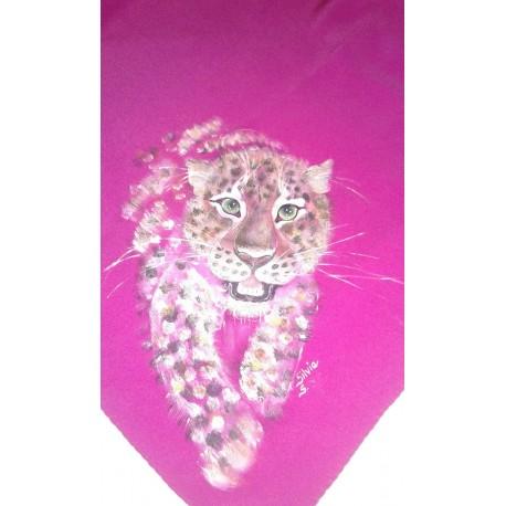 Pure silk foulard
