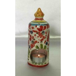 Ceramic candle holder