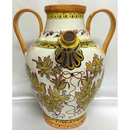 Ceramic jug, Deruta style