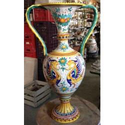 Anfora in ceramica Deruta, stile raffaellesco