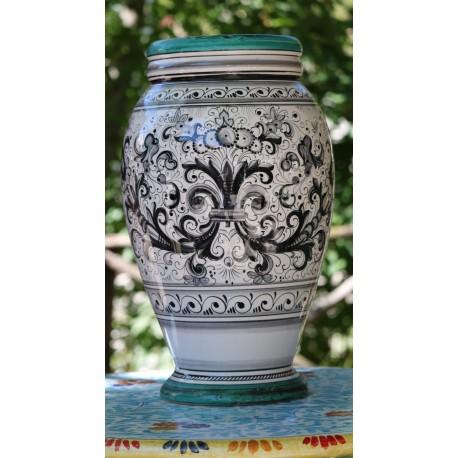"""Vaso in ceramica Deruta, stile """"ricco Deruta"""""""