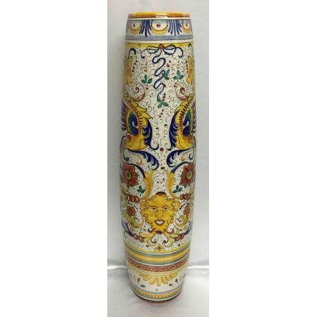 Vase en céramique Deruta, style Raphael, bord lisse