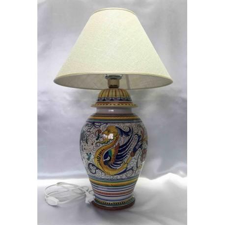 Lampada da tavolo in ceramica Deruta