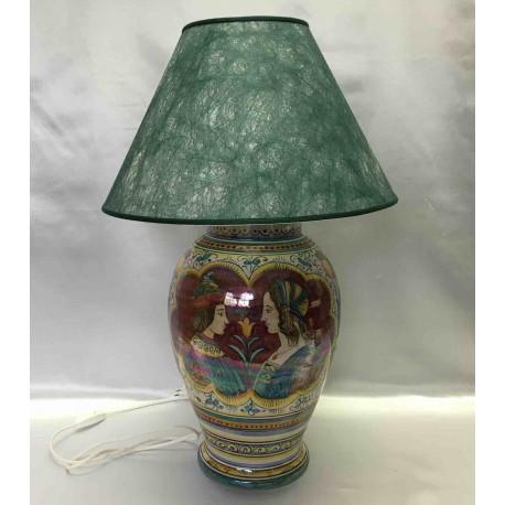 Deruta ceramic table lamp