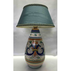 Deruta ceramic table lamp