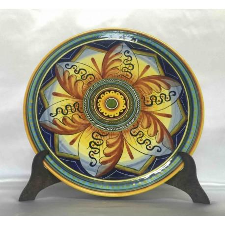 Plaque d'ameublement en céramique Deruta