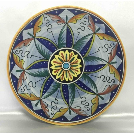 Deruta ceramic furnishing plate