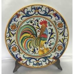 """Deruta Keramik Möbelplatte, mit Hahn, """"reiche Deruta"""" -Stil"""