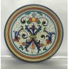 Plaque d'ameublement en céramique Deruta, style riche Deruta