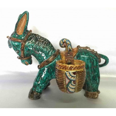 Ceramic donkey with soma