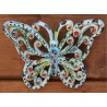 Ceramic butterfly, hand painted