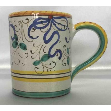 Deruta Keramikbecher, mit Griff